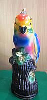 Красочная яркая копилка из гипса Попугай, фото 1