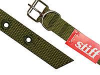 Ошейник брезентовый одинарный STIFF 20 мм