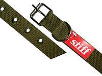 Ошейник брезентовый одинарный STIFF 25 мм