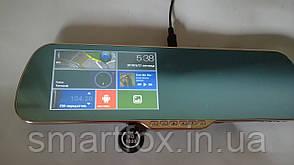 Зеркало заднего вида с регистратором на Android + 2 камеры Х5Е 5 HD
