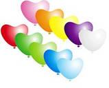 """Воздушные шарики Сердца пастель АССОРТИ 10"""" Gemar (26 см), 100 шт, фото 2"""