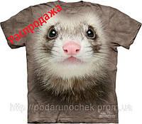 Хорек - футболка 3Д