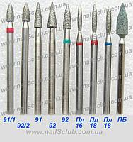 Алмазная Пуля Короткая фреза для маникюра купить Украина , фото 1