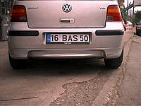 Обвес на задний бампер (под покраску) Volkswagen Golf 4 (1998-2004)