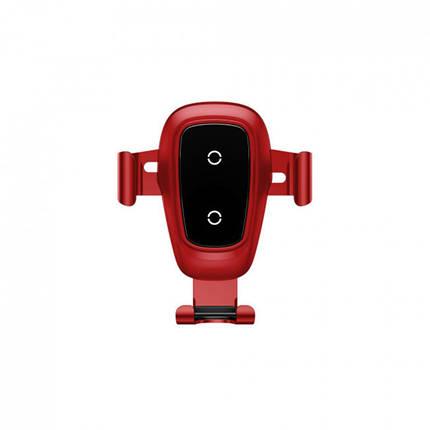 Автодержатель «Baseus - (WXYL - B0A) Wireless Charger 10W, Gravity» Black, фото 2