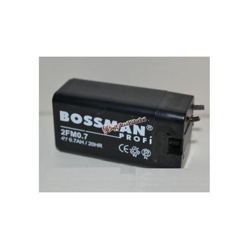 Аккумулятор 4v 0.7Ah Bossman 2FM0.7 28x21x56