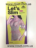 Майка - корсет  утягивающий  Lets Slim, фото 1