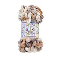 Alize Puffy Color (Алізе Пуффи Колор) № 5926 (Пряжа, нитки для в'язання руками)