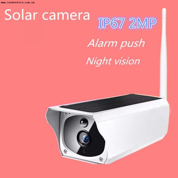 WIFI Камера CAMERA CAD F20 2mp solar IP