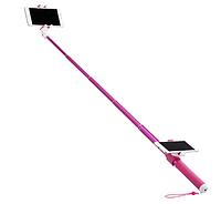 Монопод для Селфи Momax Hero DUO 100 см,pink (KMS10P)