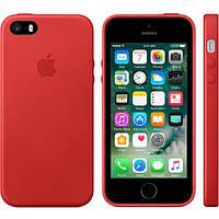 Накладка «iPhone 5SE» «Leather Case» ® Чехол на айфон