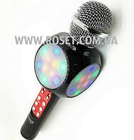 Беспроводной микрофон - WSTER WS-1816 Bluetooth LED SD-карта, фото 1