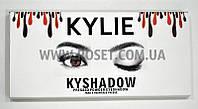 Набор теней - Kylie Kyshadow The Burgundy Palette (10 цветов), фото 1