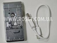 Зажигалка электронная Jin Jun Hong Kong USB Charge, фото 1