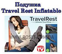 Подушка для путешествий Travelrest Inflatable Travel Pillow, фото 1