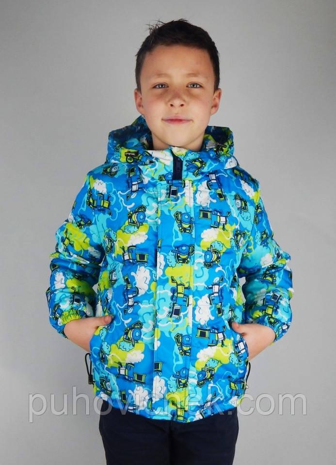 Яркая Курточка Весенняя для Мальчика Модная — в Категории