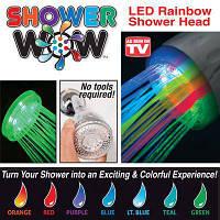 Насадка для подсветки воды из душа Shower Wow, фото 1