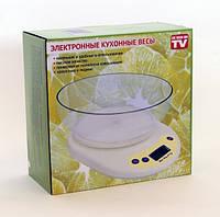 Весы кухонные электронные с чашей  до 5  кг