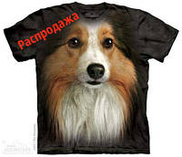 Колли. The Mountain Sheltie Face T-Shirt