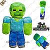 """Плюшевая игрушка Зомби из Minecraft - """"Zombie Toy"""" - 20 см."""