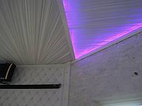 Тканевые потолки с подсветкой