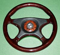 Руль автомобильный универсальный King MAHOGANY POWER