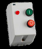 Контактор КМИ10960 9А в оболочке с индик. Ue=230В/АС3 IP54 ИЭК