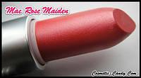 Помада MAC lustre lipstick ROSE MAIDEN