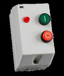 Контактор КМИ10960 9А в оболочке с индик. Ue=400В/АС3 IP54 ИЭК