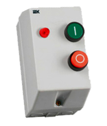 Контактор КМИ11260 12А в оболочке с индик. Ue=230В/АС3 IP54 ИЭК