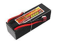 Аккумулятор Dinogy Li-Pol 6000mAh 14.8V 4S 30C Hardcase 41x40x138мм T-Plug (DDS-4S6000DH-T)