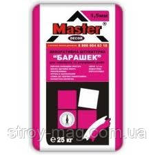 MASTER BARASHEK Декоративная штукатурка БАРАШЕК зерно 1,5мм бел., 25кг