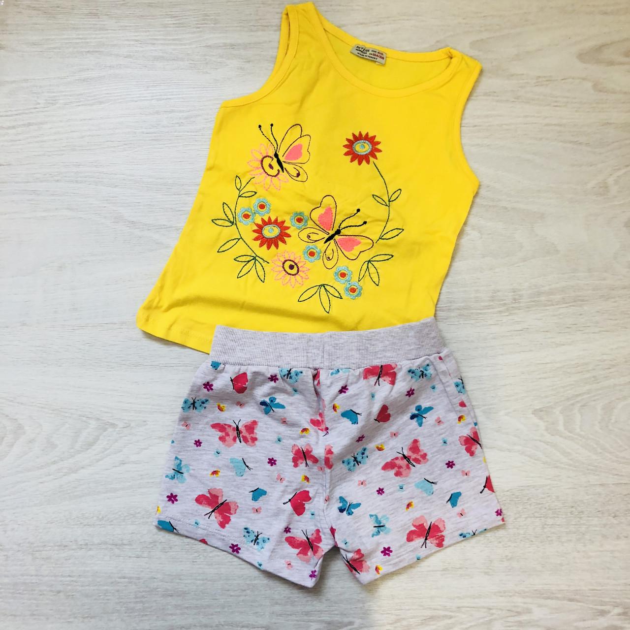 Костюм майка и шорты(4-6 лет)