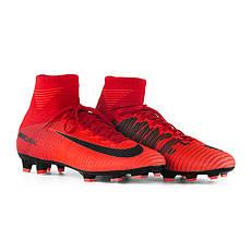 040d8114 Бутсы пластик детские Копы Nike JR MERCURIAL SUPERFLY V DF FG 921526-616(01