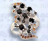 Кольцо  женское серебряное Марс, фото 1