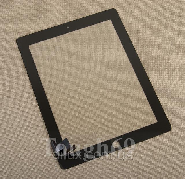 Сенсор | сенсорное стекло | Touch screen iPad 2 черное