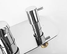 Смеситель для ванны и душа GENEBRE Kode, встраеваемый, на 2 зоны (62117314566), фото 2