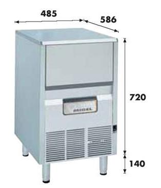 Льдогенератор 75кг/сутки KF-85A Migel 2090016