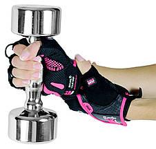 Женские перчатки для фитнеса GRIP POWER PADS Women's GPP-91DA, фото 3