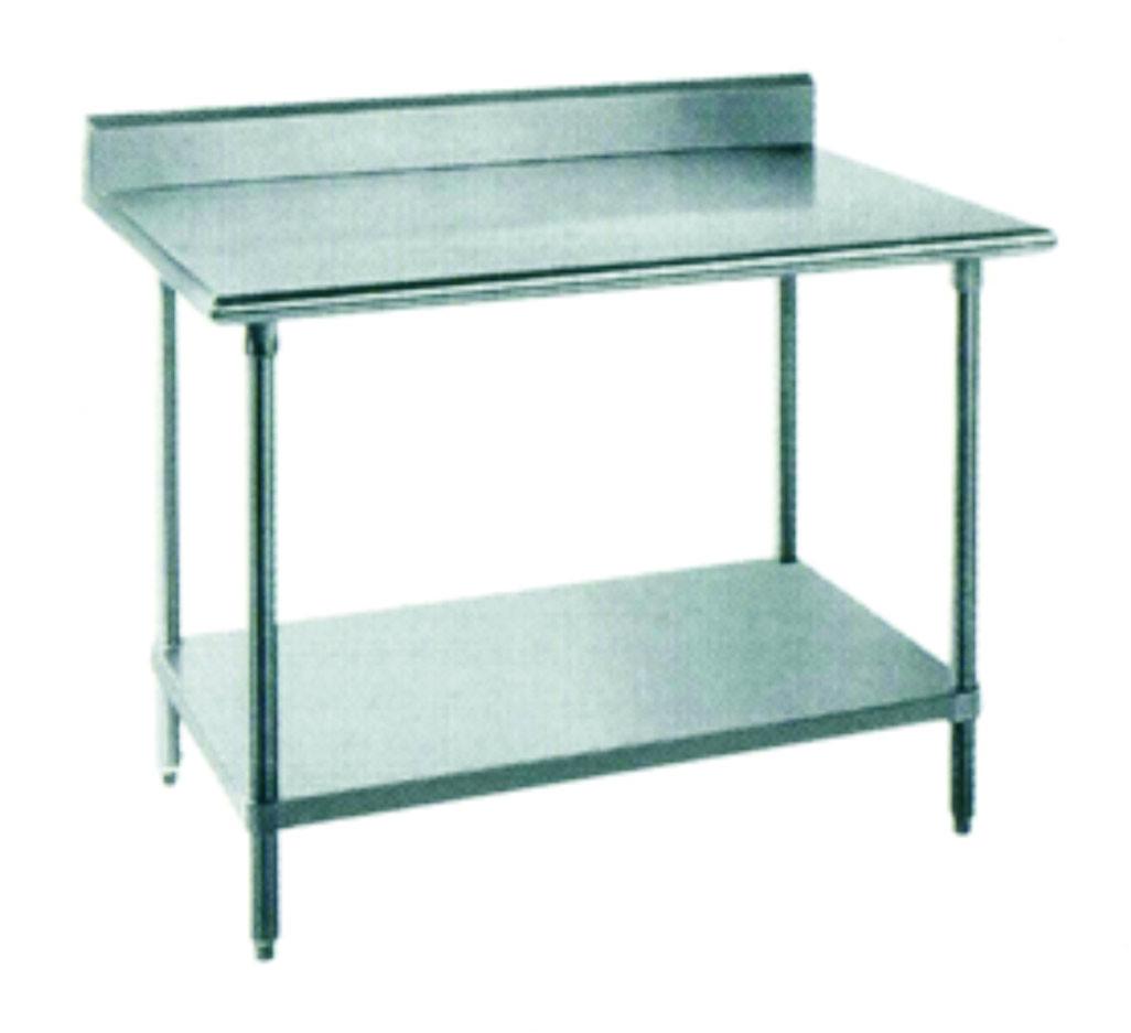 Стол кухонный 750х1800мм с бортиком WG304-3072-11/2 Shinbo 3340019