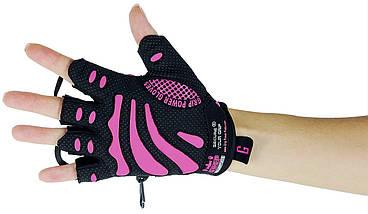 Женские перчатки для фитнеса GRIP POWER PADS Women's GPP-91DA, фото 2