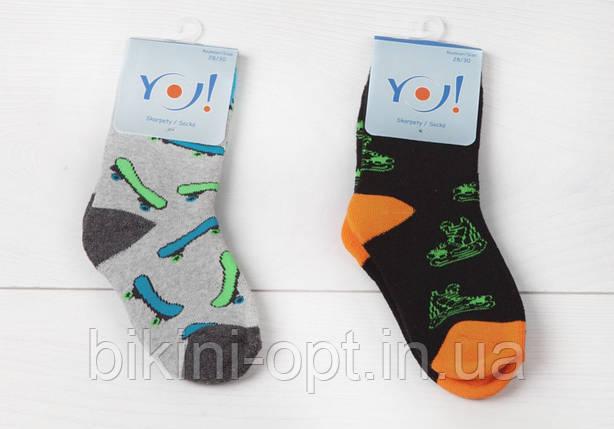 SKF/N BOY Шкарпетки бавовоняні махрові з малюнком для хлопців, фото 2