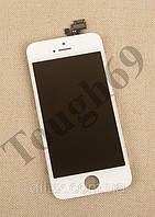 Дисплей LCD + Touchscreen iPhone 5c, белый