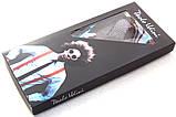 Подтяжки черные Paolo Udini с белым узором, фото 4