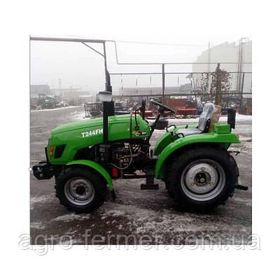 Трактор Xingtai T244FHL (24 к. с., 3 циліндра ГУР, KM385, КПП (3+1)х2, блокування диференціала)