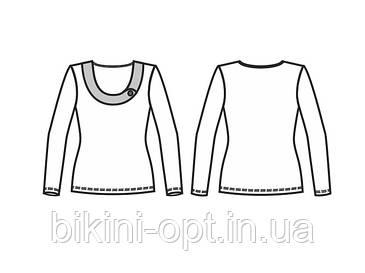 БЛ 066 Блузка жін., фото 2