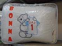 Постельное белье для новорожденных в кроватку  Bonna с вышивкой