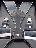 Мужские серые подтяжки Paolo Udini, фото 3