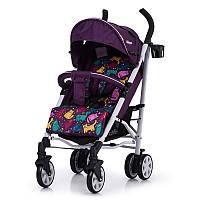 Коляска-трость Allegro, «Carrello» (CRL-10101/1), цвет Kitty Purple (фиолетовый в льне)