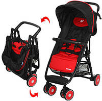 Детская прогулочная коляска-книжка EL CAMINO MOTION M 3295-3 красная
